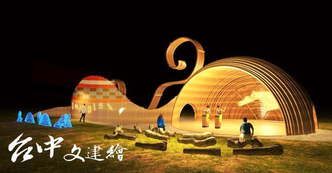 原民族精彩的音樂文化將在主燈區「原藝交響燈區」演出。(圖:主辦單位)