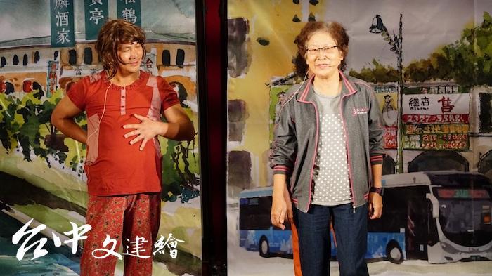 2019年大城社區(中區)以青銀同台,促進世代的理解。(圖:台中市文化局)