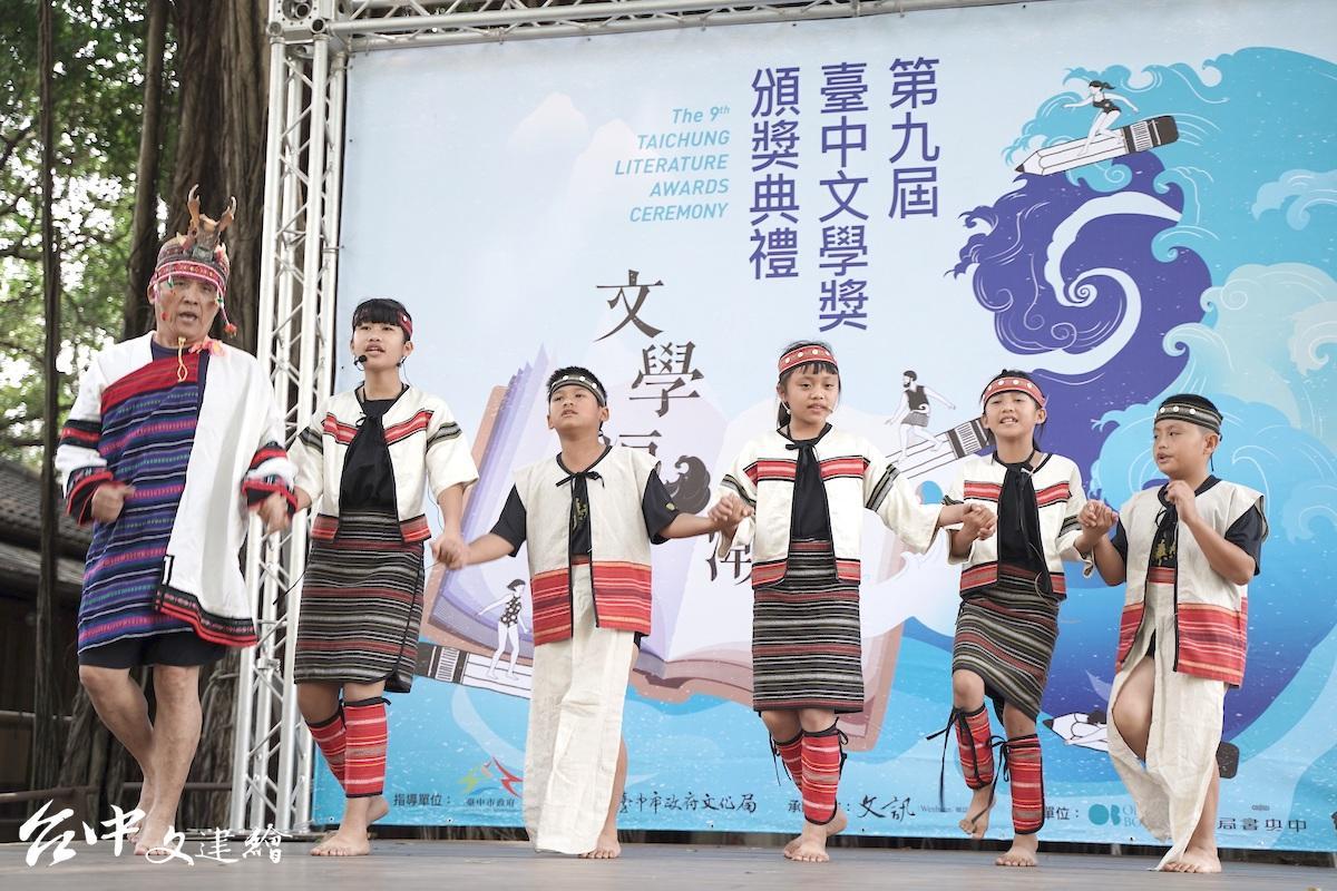 和平區自由國小學生演出(圖:台中市文化局)