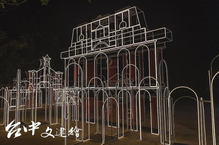 「光之記憶」國定古蹟台中州廳。(圖:台中市文化局)