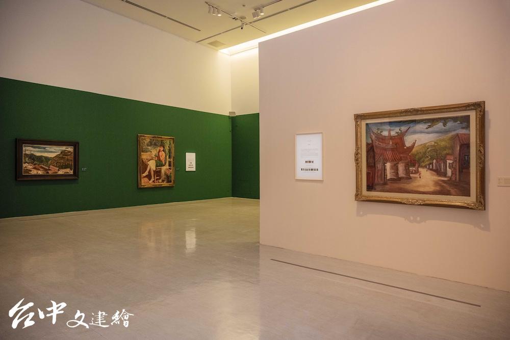 國美館「經典再現─台府展現存作品特展」分為西洋畫部、東洋畫部。(圖:國美館)