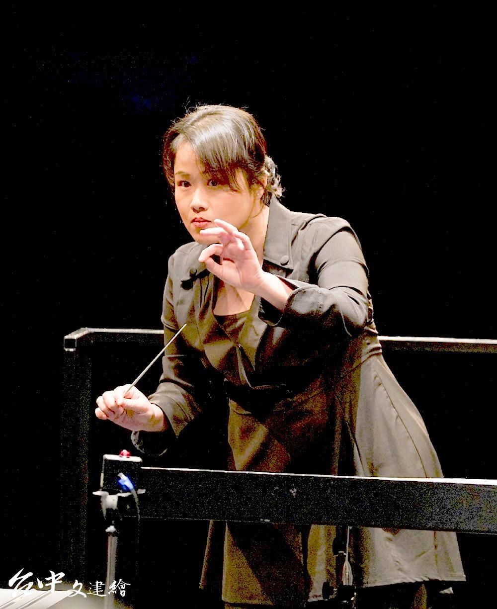 蔡其蓁擔任2020 國台交客家音樂會「客家音畫」指揮。(圖:國台交)