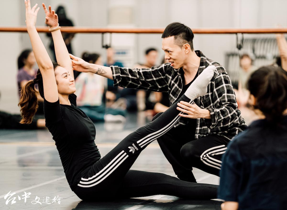 台灣編舞家蔡博丞是新起之秀。攝於2020年。(圖:台中歌劇院)
