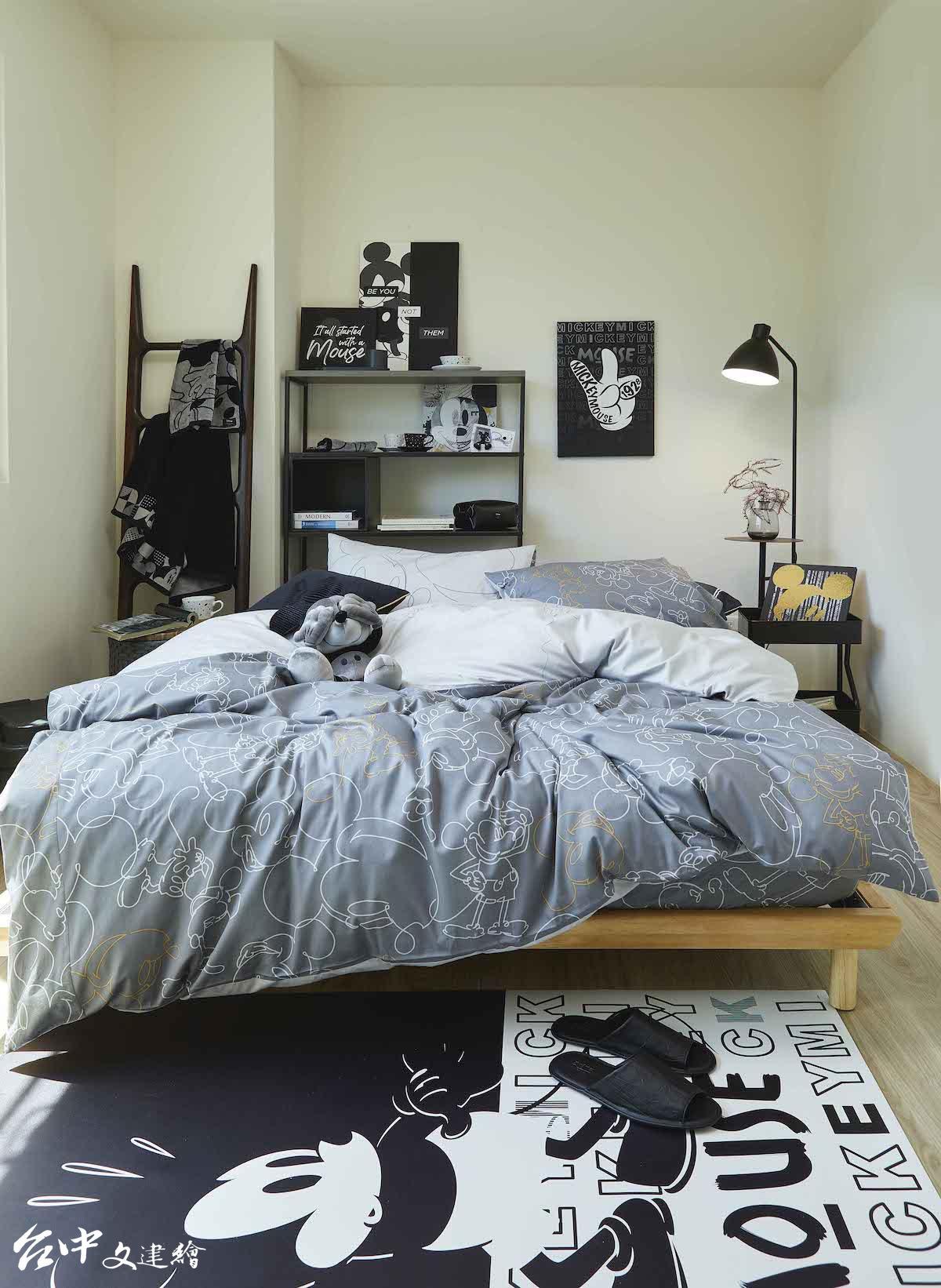 比爾賈的潮流臥室:我鍾愛顛覆想像的個性黑(圖:業者提供)