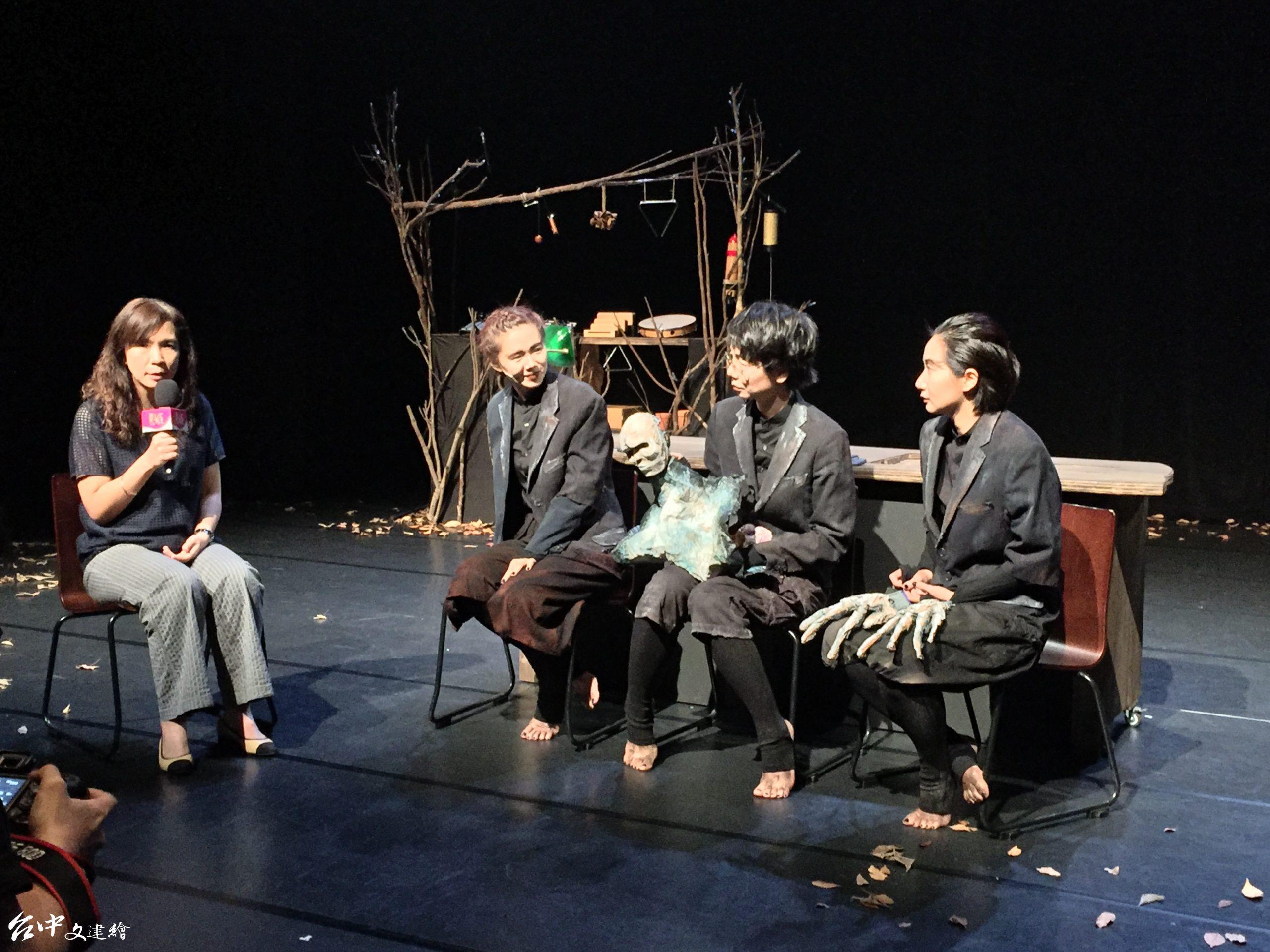 「新藝計畫」入選作品「親愛的戴斯」將在 7 月 31 日與 8 月 1、2 日在小劇場演出四場。(攝影:謝平平)