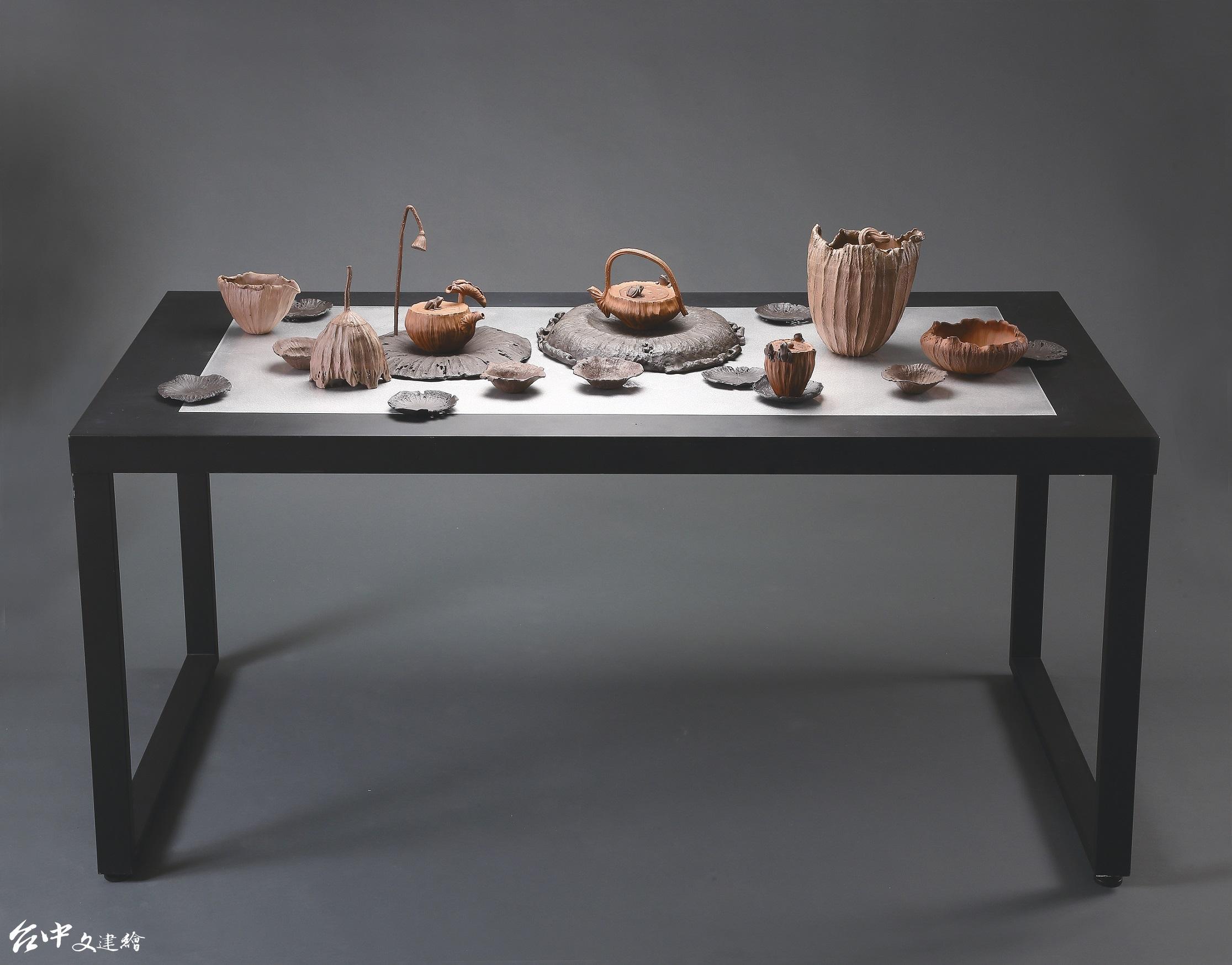 2020年台中市「大墩美展」工藝類第一名,林智斌「和・鳴」。(圖:台中市文化局)