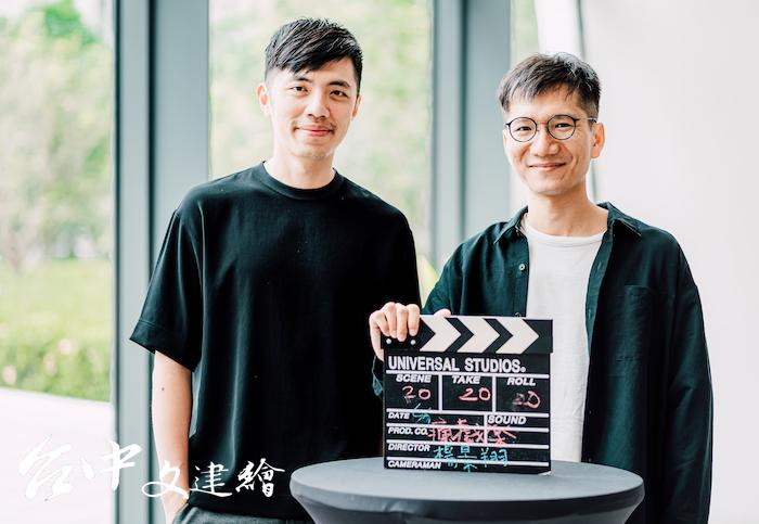 瘋戲樂工作室(由左至右)作曲暨音樂指導王希文、導演楊景翔。(圖:台中歌劇院)