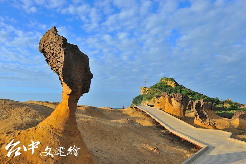 野柳地質公園推出奇石很有趣導覽活動,持[ 愛台灣博物館卡」可免費報名參加。(圖:故宮博物院)