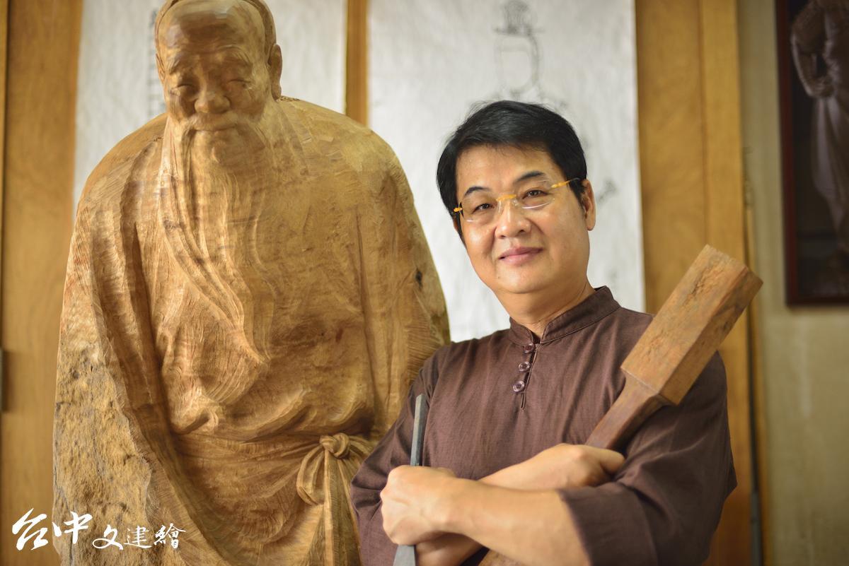 自在翁,陳啟村。(圖:台中市文化局)