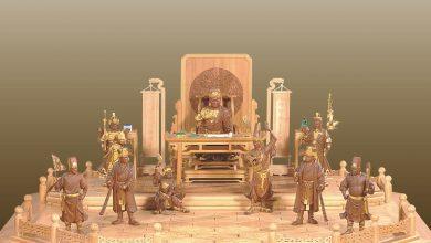 順天張府千歲公案桌,陳啟村,2006年。(圖:台中文化局)
