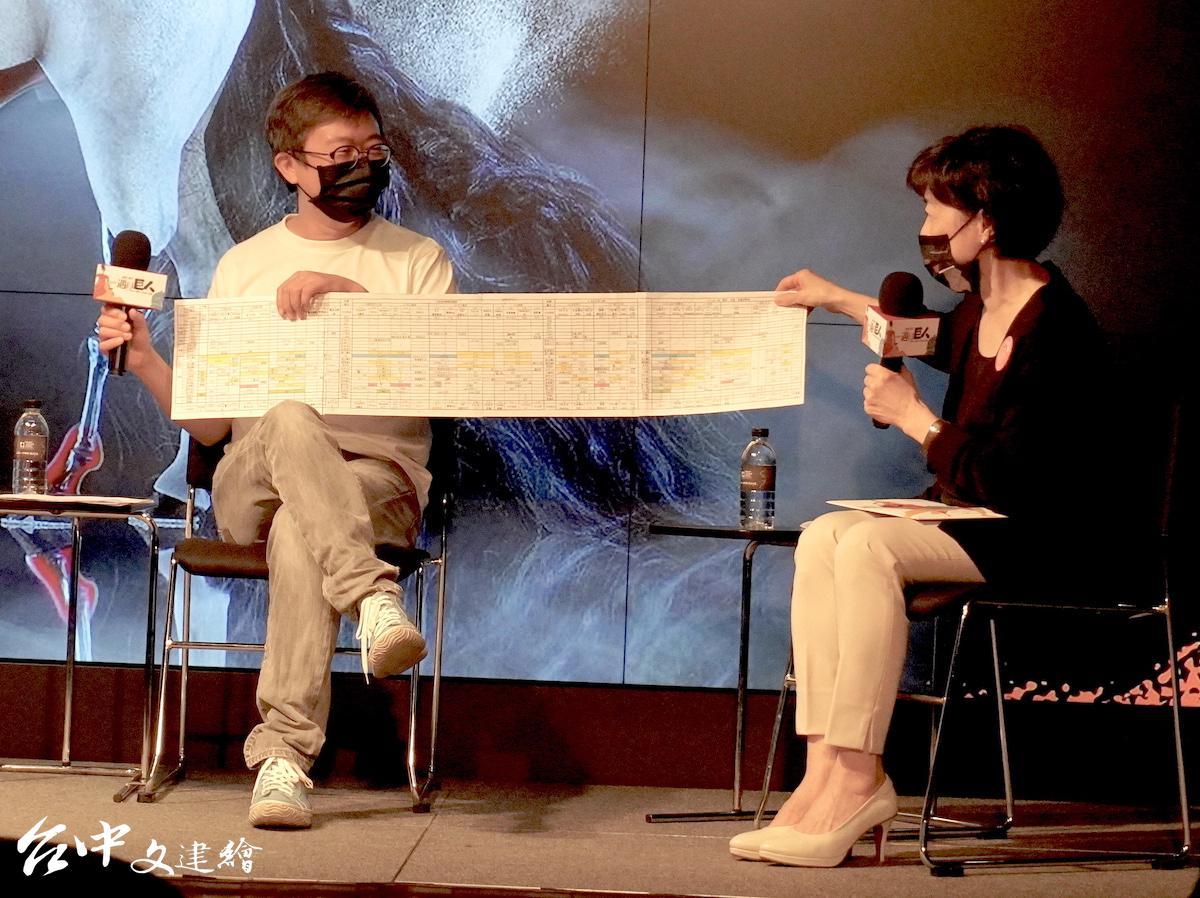 莎妹劇團「混音理查三世」有肢體、聲音交叉演出,導演王嘉明的劇本像是樂團總譜。(攝影:謝平平)