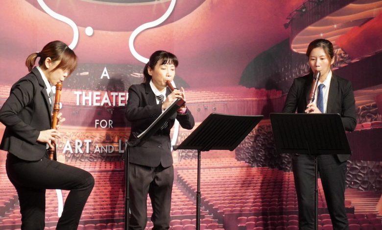 新竹直笛合奏團 2021 年 1 月 20 日將在台中歌劇院舉行「直笛新浪潮」音樂會。(攝影:謝平平)