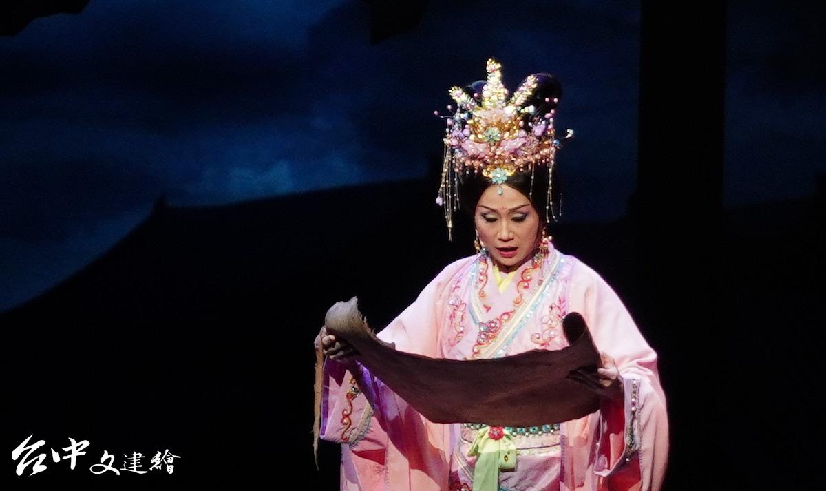 王昭君由傳藝金曲獎得主、薪傳當家小旦張孟逸飾演。(圖:台中文建繪)