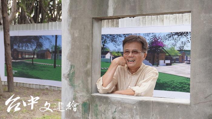 東海大學建築系助理教授蘇睿弼(攝影:謝平平)