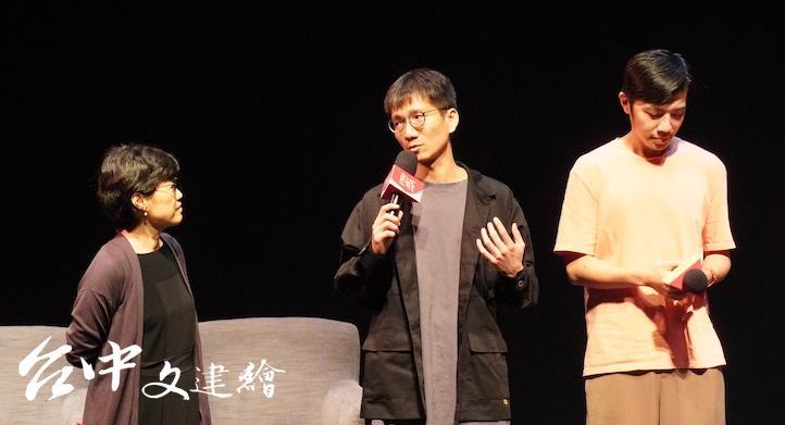 導演楊景翔對於台北有一群文青想要重現台語片的黃金年代,感到十分震撼。(攝影:謝平平)