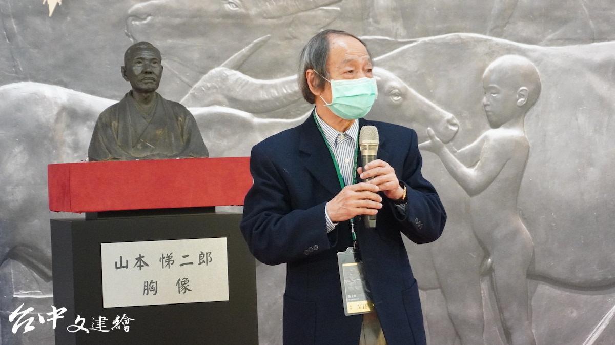 美術史學家李欽賢(圖:台中文建繪)