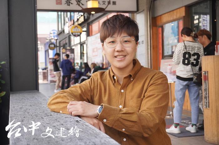 艸雨田舞蹈劇場團長王羽靖。(攝影:謝平平)