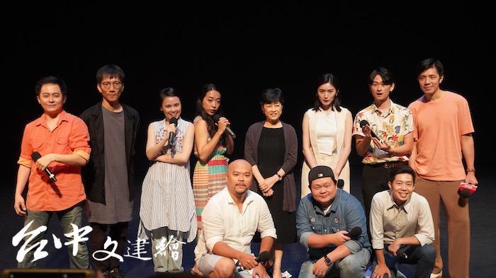 台語音樂劇「台灣有個好萊塢」考驗演員的功力。(攝影:謝平平)