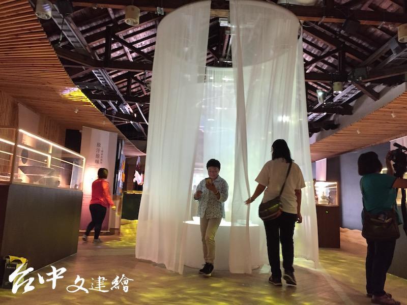 「亞洲酒文化」台中開幕。(攝影:謝平平)