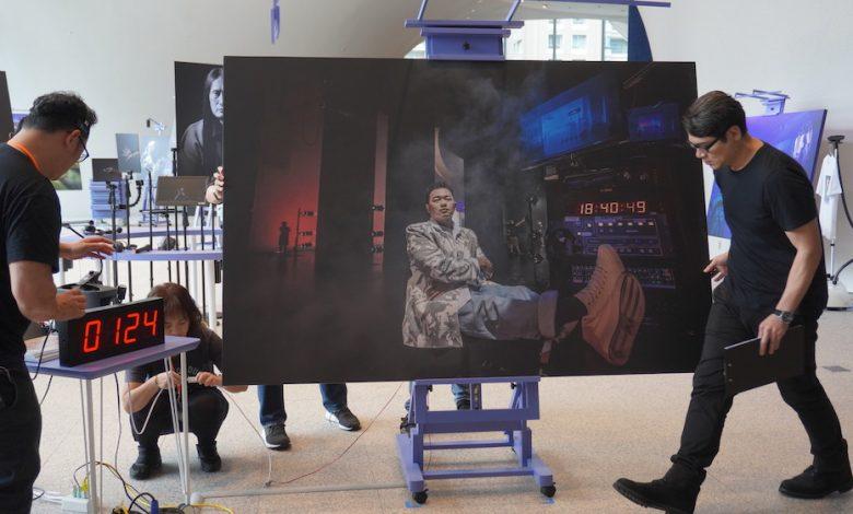 「技術劇場人攝影展」在台中歌劇院展出。(攝影:謝平平)