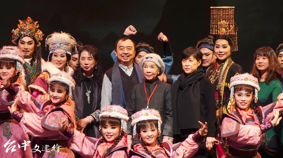 2021年1 月 16 、17 日,薪傳歌仔戲劇團《昭君・丹青怨》將在台中歌劇院進行首演。(圖:台中文建繪)