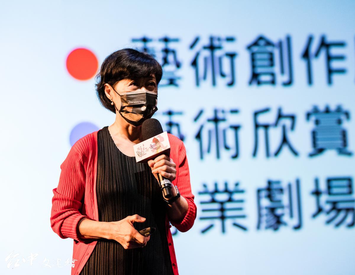 台中歌劇院藝術總監邱瑗。(圖:台中歌劇院/攝影:黃浩、李建霖)