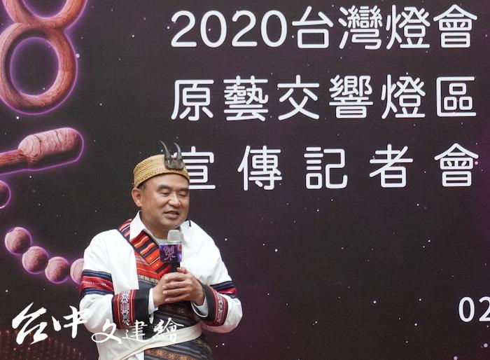 台中市原民會主委林益陸(攝影:謝平平)