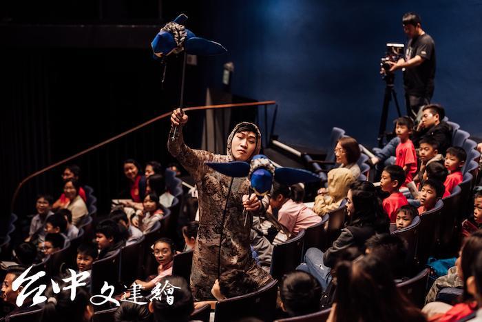 台中歌劇院去年推出「NTT+」,「藝起進劇場」花絮。(圖:台中歌劇院,攝影林峻永)