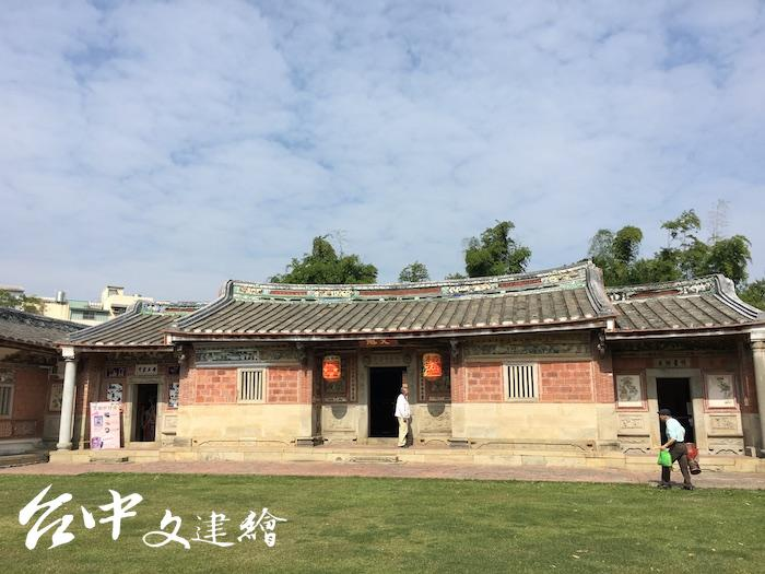 台中潭子「摘星山莊」名列全台十大民宅之首。(攝影:Burnice)