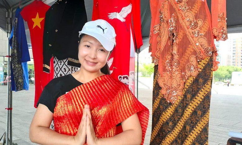 「泰有藝術文化之旅」除可穿戴泰國國服、品嚐泰國風味餐,還結合中區小旅遊。(攝影:謝平平)