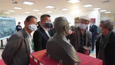 Photo of 重建台灣藝術史 天才雕塑家黃土水「山本悌二郎胸像」開箱記者會