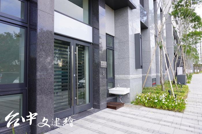 南屯精科社宅一樓店面設為公立托嬰中心。(攝影:謝平平)