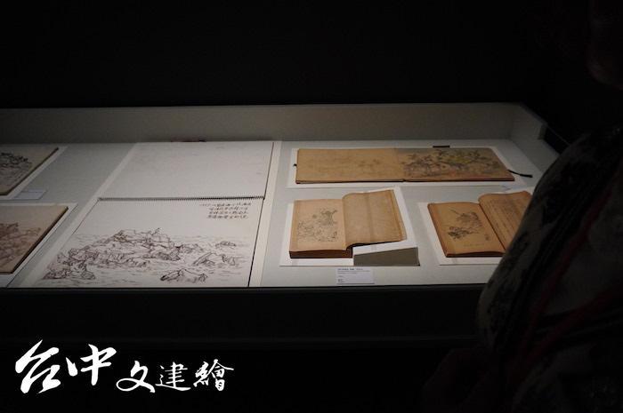 林玉山捐贈展將在國美館展出至 3月22日。(攝影:謝平平)