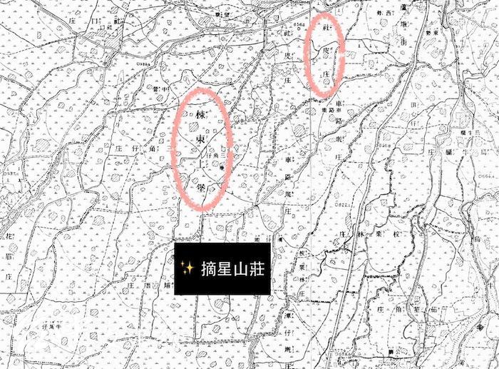 《台灣堡圖》,「堡」是清朝重要的行政機關,下轄郡、街、庄。日治時代也依據台灣堡圖,繪製地段與地號。(圖:翻攝台灣堡圖)