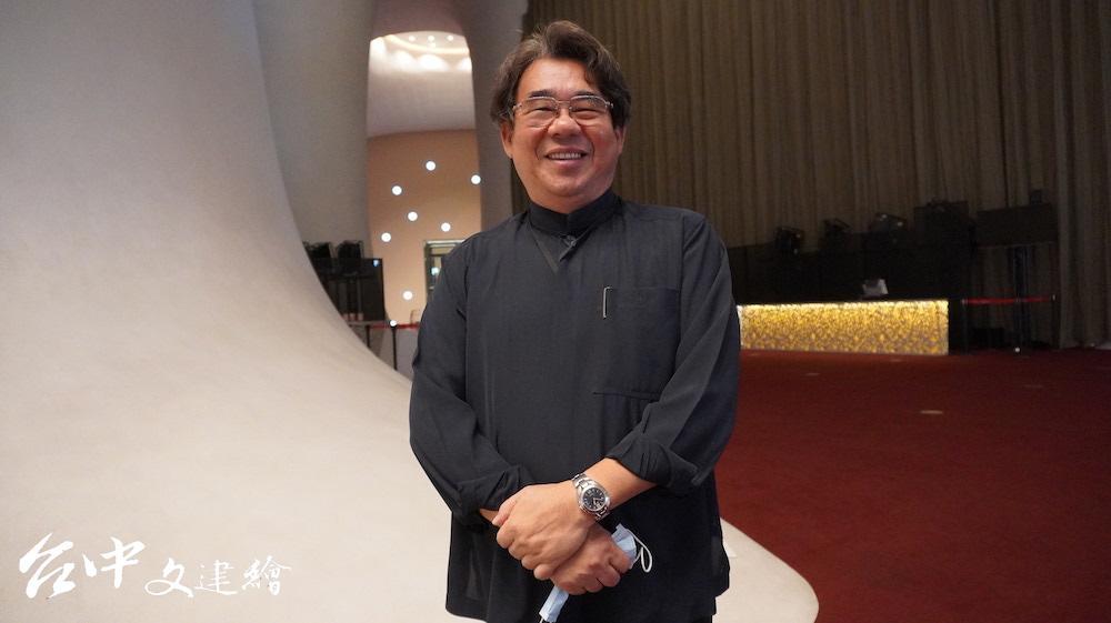 明華團總團長陳勝福(攝影:謝平平)