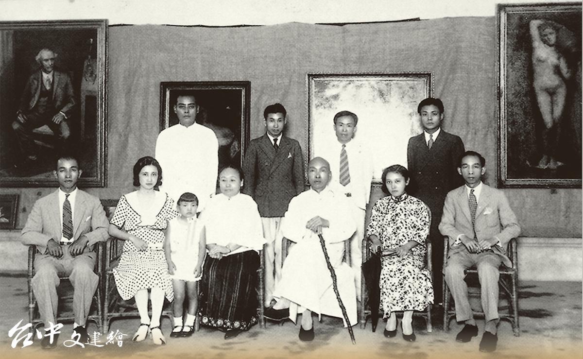 1933年(昭和八年)5月13日,顏水龍於台中圖書館舉辦留歐作品展覽會。(圖:林獻堂博物館)