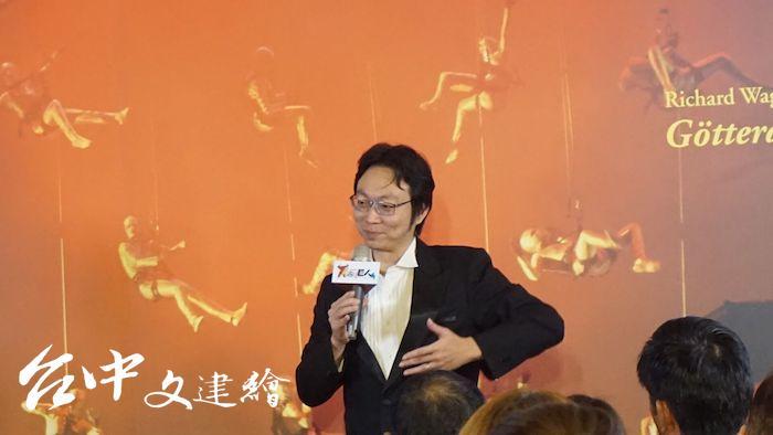 貪婪無度的阿伯利希由目前活躍於臺灣樂壇的男中音趙方豪飾演