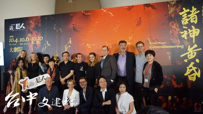 最後一日的〈諸神黃昏〉是台中國家歌劇院《尼貝龍指環》四年計畫的最後一部,演出時間近 6 小時。(攝影:謝平平)