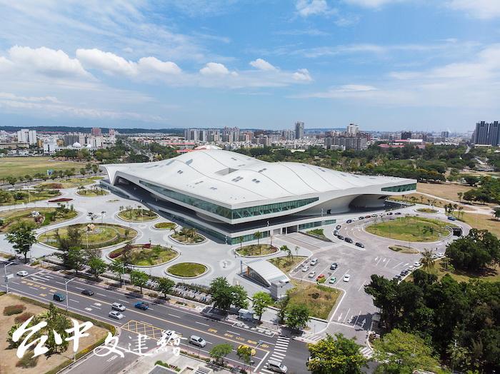 2019年台灣建築獎入選作品—衛武營藝術文化中心(圖片提供:主辦單位)