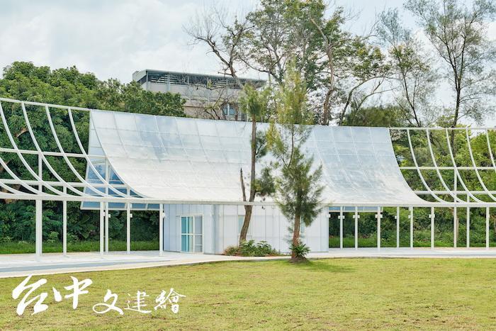 2019年台灣建築獎入選作品—台中花博探索館(圖片提供:主辦單位)