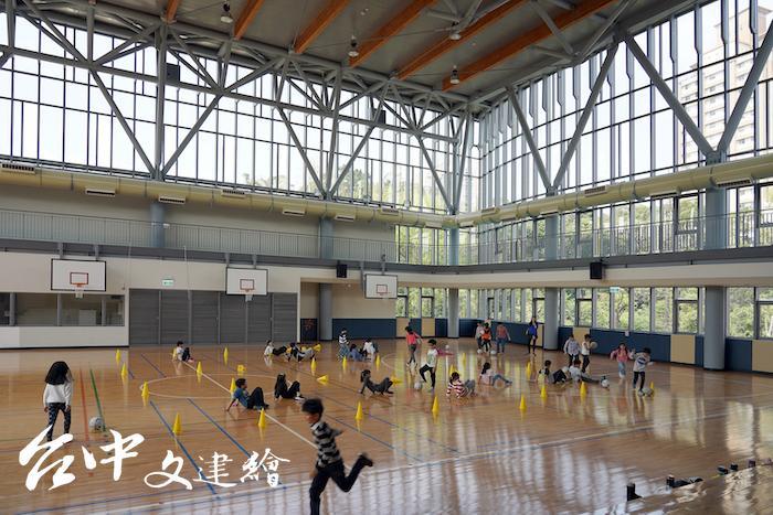 2019年台灣建築獎入選作品—台北永建國小(圖片提供:主辦單位)