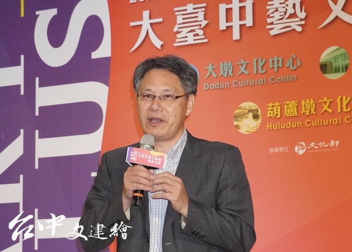 國立台灣交響樂團團長劉玄詠。(攝影:謝平平)