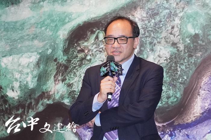 國美館館長林志明。(攝影:謝平平)