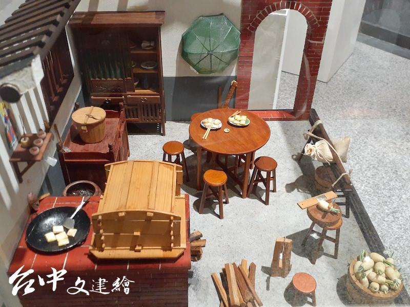 李義雄,阿嬤ㄟ 灶腳,45公分X45公分X45公分,2007。(攝影:謝平平)