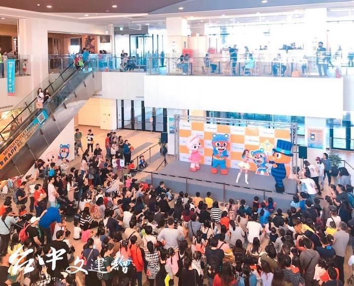 MITSUI OUTLET PARK 台中港店本週舉辦超人傑克 SUPER Z 與 MOMO 家族的大樹哥哥。(圖:「Mitsui Outlet Park 台中港」粉專)