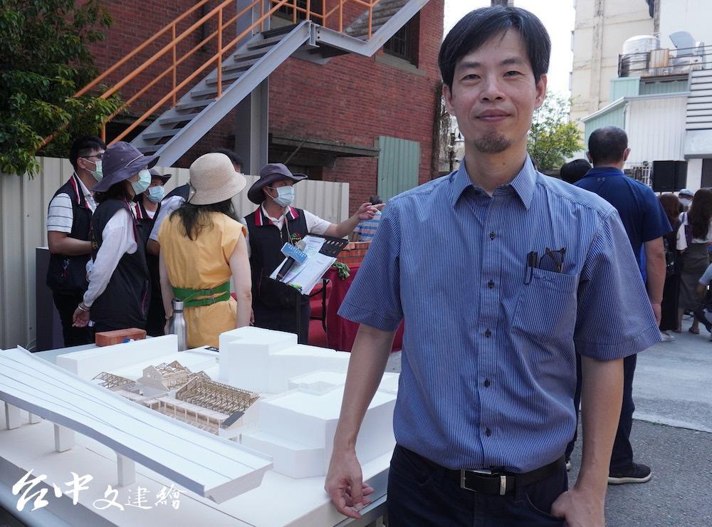 建築師陳智宏(攝影:謝平平)