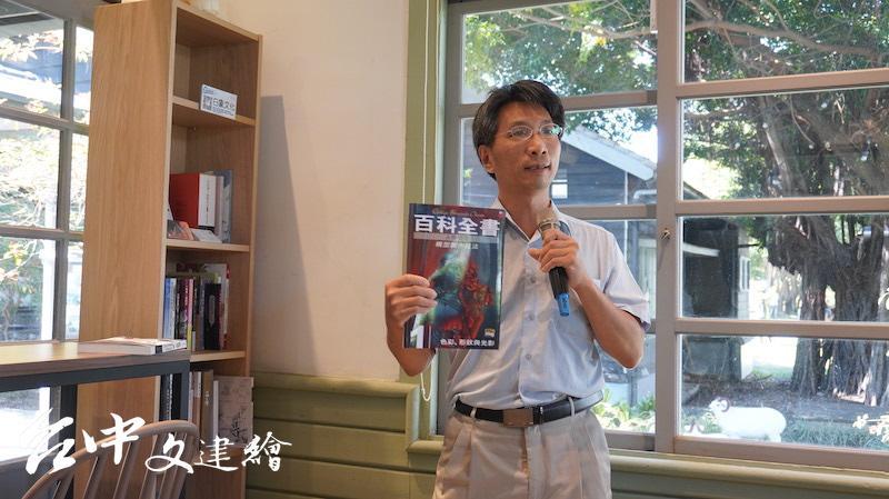 白象文化總監張輝潭。(攝影:謝平平)