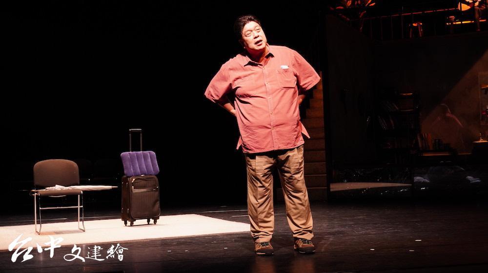 羅北安在「如此美好」中飾演父親。(攝影:謝平平)