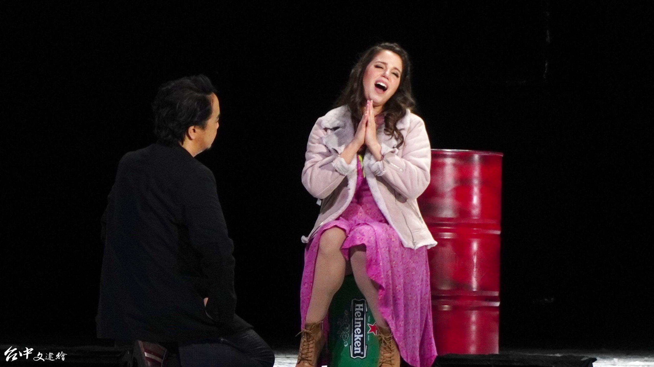 義大利女高音Jessica Nuccio飾演咪咪。(攝影:謝平平)
