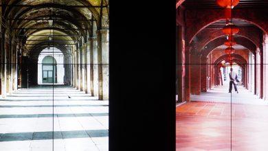 Luca Bonaccorsi 與藍皓倫「9663」展覽現場。(攝影:謝平平)